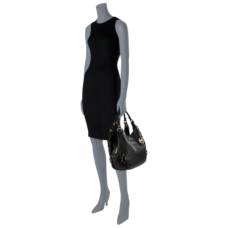 f61c8464a0 MICHAEL Michael Kors Bedford Leather Large Shoulder Tote Bag in ...