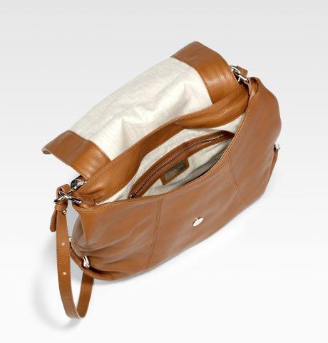 Michael Kors Skorpios Flap Shoulder Bag Walnut 52