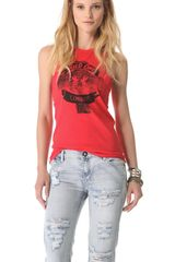 One Teaspoon Wild One Ryder Tank - Lyst