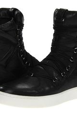 Pierre Balmain Calf High Top Trainer - Lyst