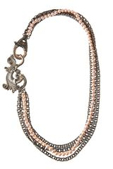 Stephen Webster Rose Pearl Multistrand Necklace - Lyst