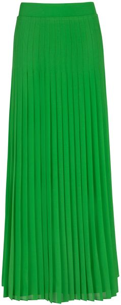 Ted Baker Miquaj Pleated Maxi Skirt - Lyst