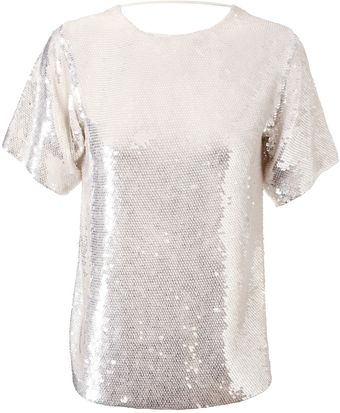Ashish Handmade Backless Sequin Top - Lyst