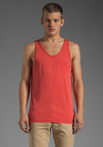 G-star Raw Ace Loose Tank in Ketchup Heather - Lyst