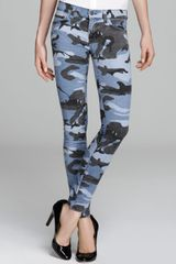 Textile Elizabeth And James Textile By Elizabeth and Debbie Skinny in Blue Camo - Lyst