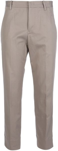 Jil Sander Straight Fit Trouser - Lyst