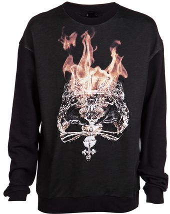 Ksubi Flaming Crown Sweatshirt - Lyst