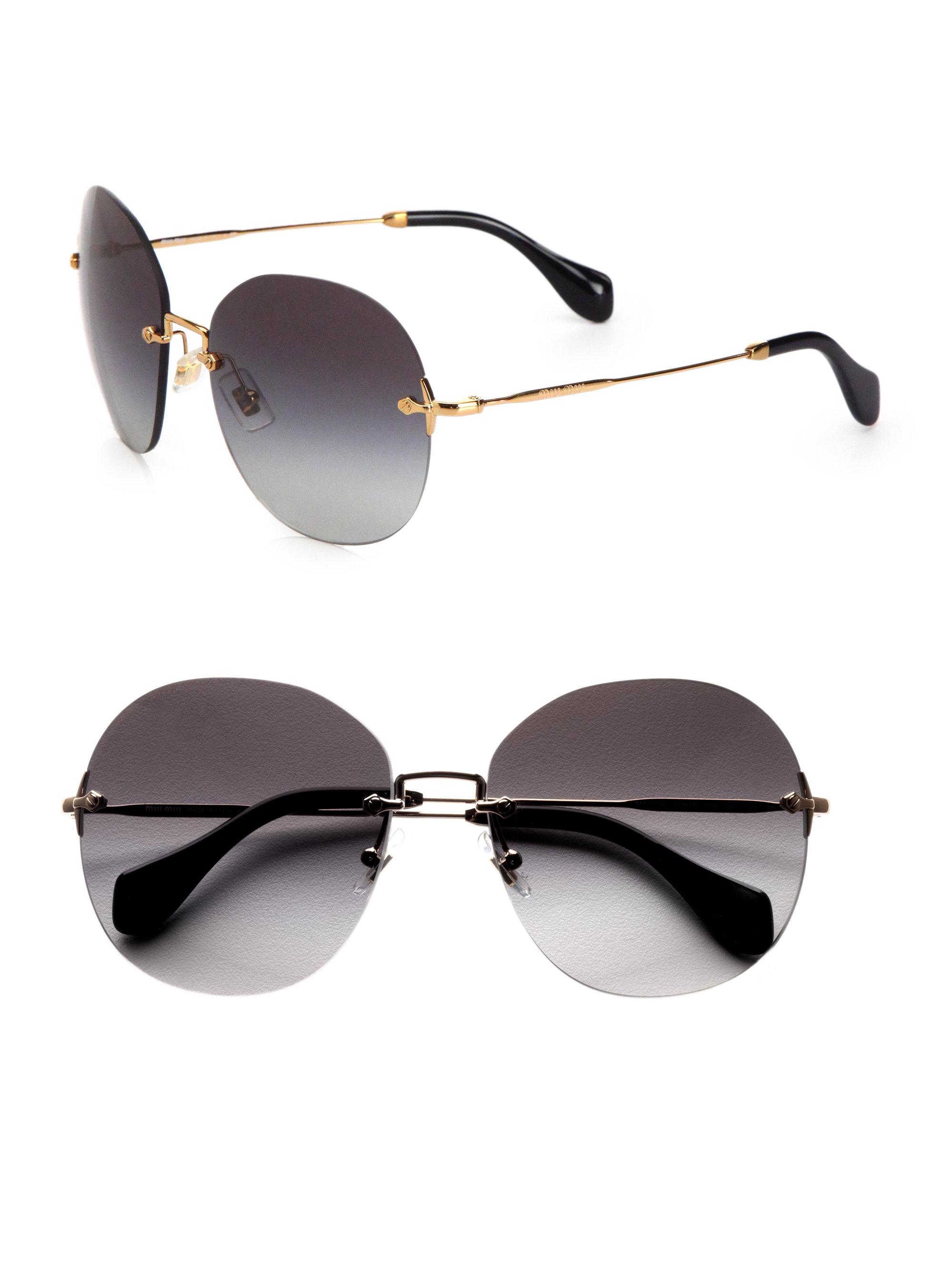 10de21647d72 Miu Miu Round Sunglasses 2012