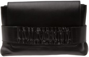 Nina Ricci Small Smocked Clutch - Lyst