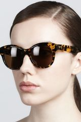 Oliver Peoples Jacey Polarized Sunglasses Dark Tortoise - Lyst
