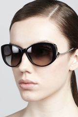 Roberto Cavalli Drop Temple Sunglasses - Lyst