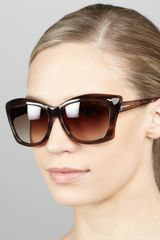 Tom Ford Lana Sunglasses - Lyst