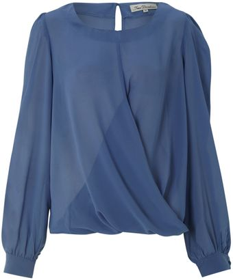 True Decadence Cross Blouse - Lyst