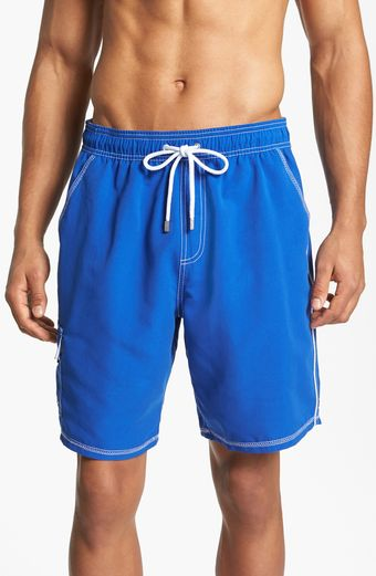 Bugatchi Uomo Swim Trunks - Lyst