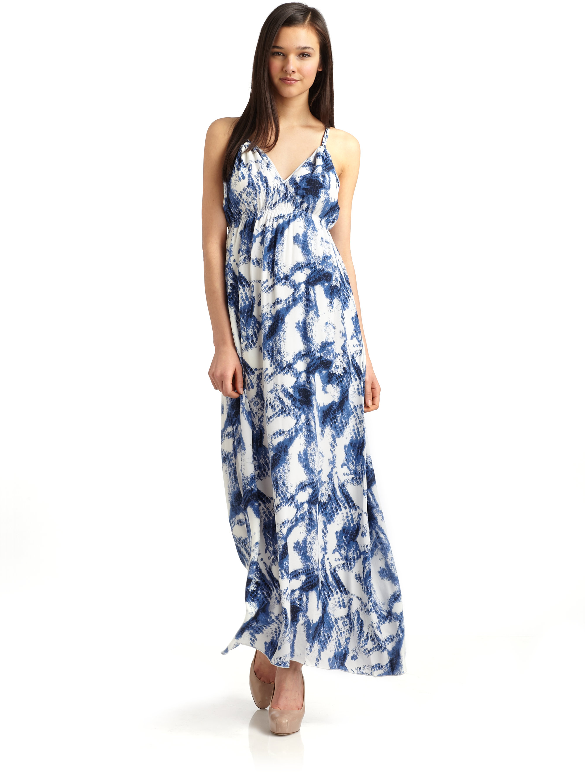 Collection Silk Maxi Dresses Pictures - Reikian