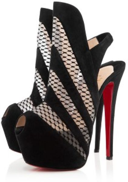 Christian Louboutin Guizi in Black - Lyst