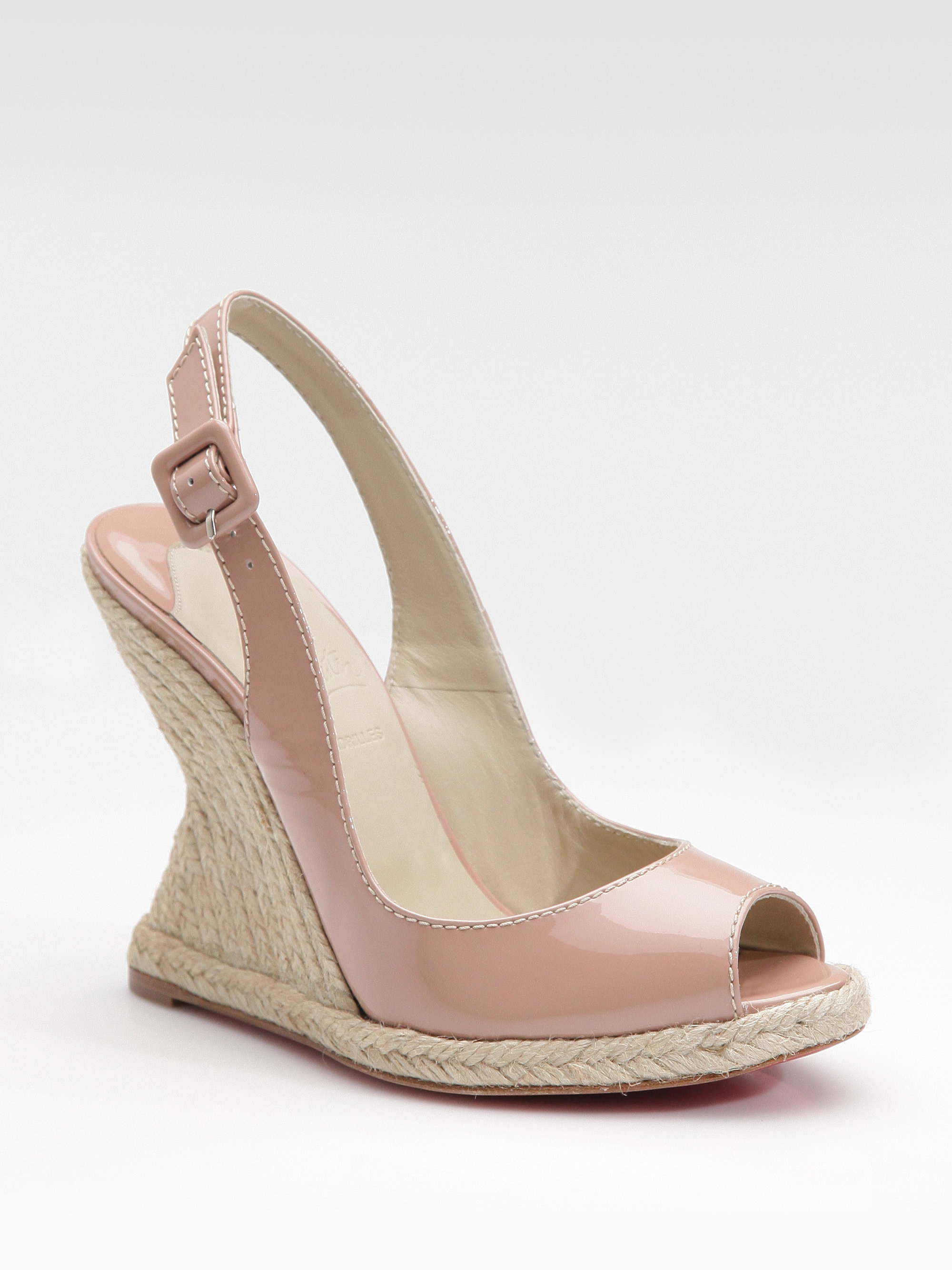 Christian Louboutin You Love Patent Leather Espadrille