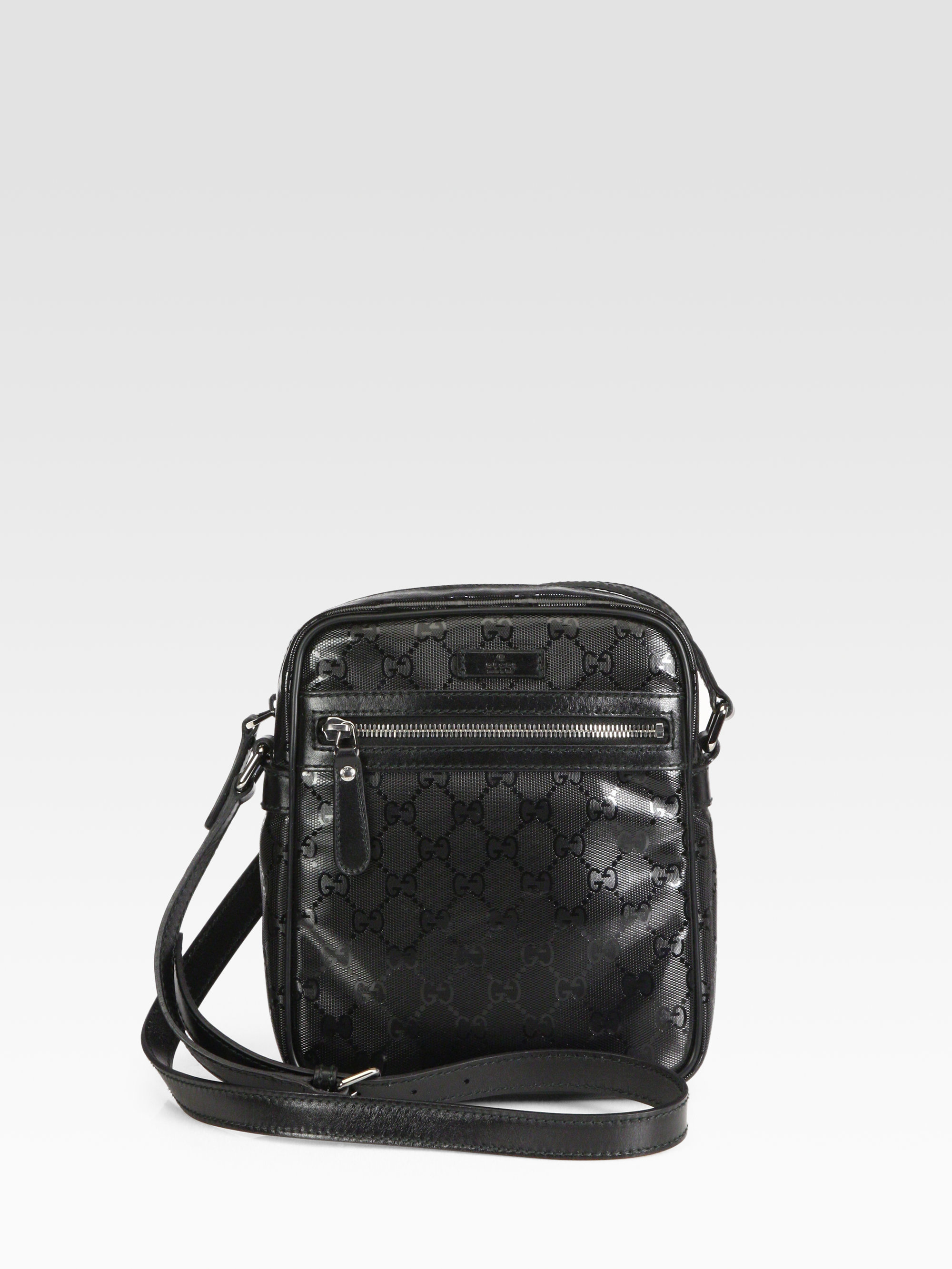 41f7633c0c62 Lyst - Gucci Flight Bag in Black for Men