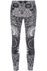Helmut Lang Patterned Leggings - Lyst