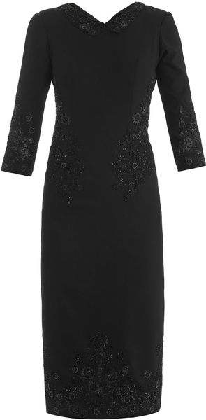 L'Wren Scott Headmistress Beaded Dress - Lyst