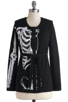 ModCloth Lifes Bone Good Cardigan - Lyst