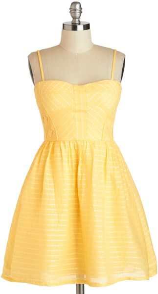ModCloth Picnic Me Up Dress - Lyst
