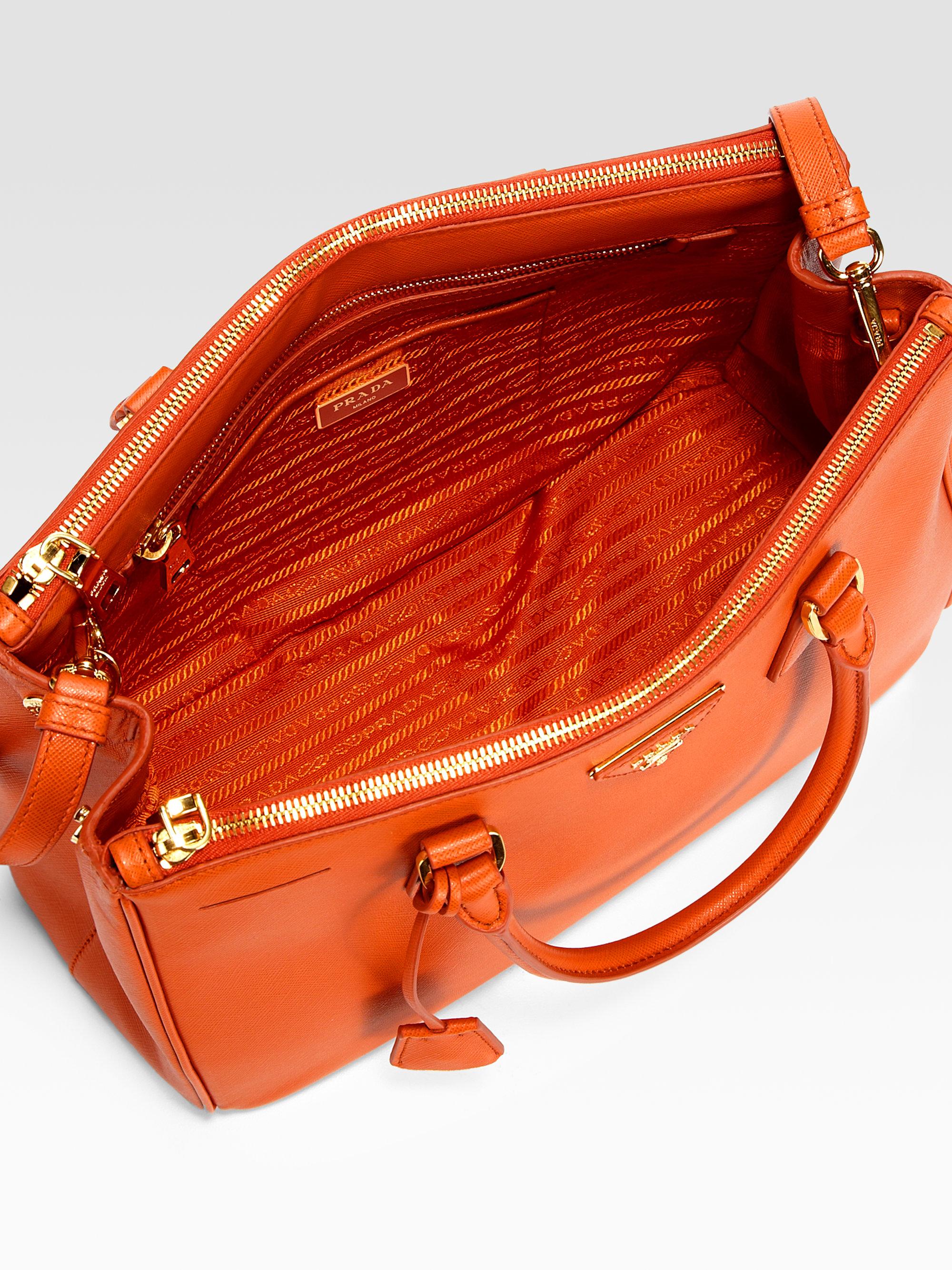 prada luggage price - prada galleria bag papaya