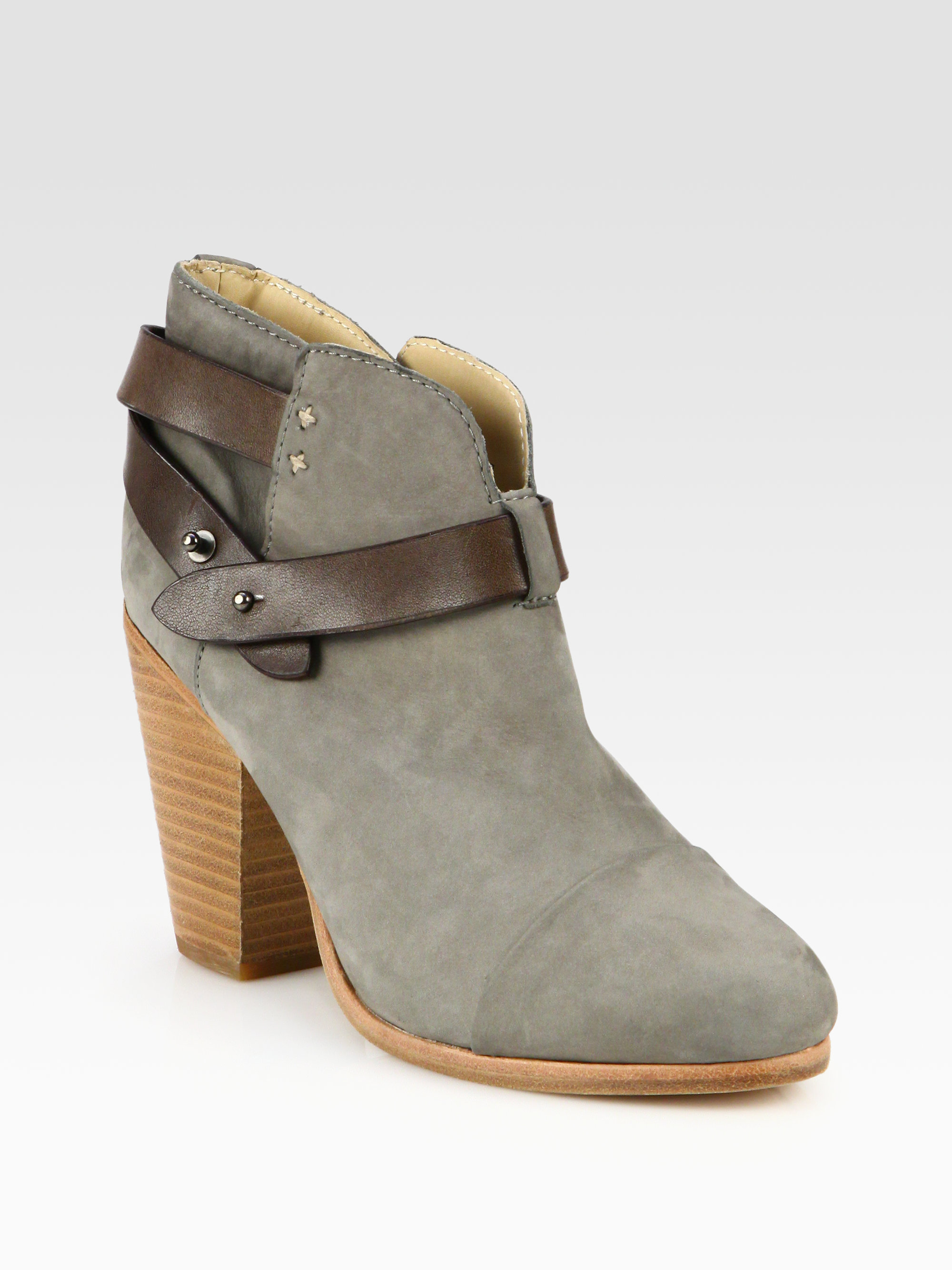 Rag & Bone Harrow Suede Ankle Boots w/ Tags