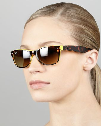 Ray-Ban Two Tone Wayfarer Sunglasses - Lyst