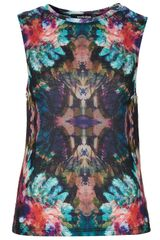 Topshop Mirror Tank By Workshop - Lyst