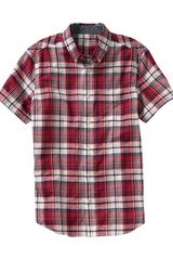 Gap Madras Shirt - Lyst