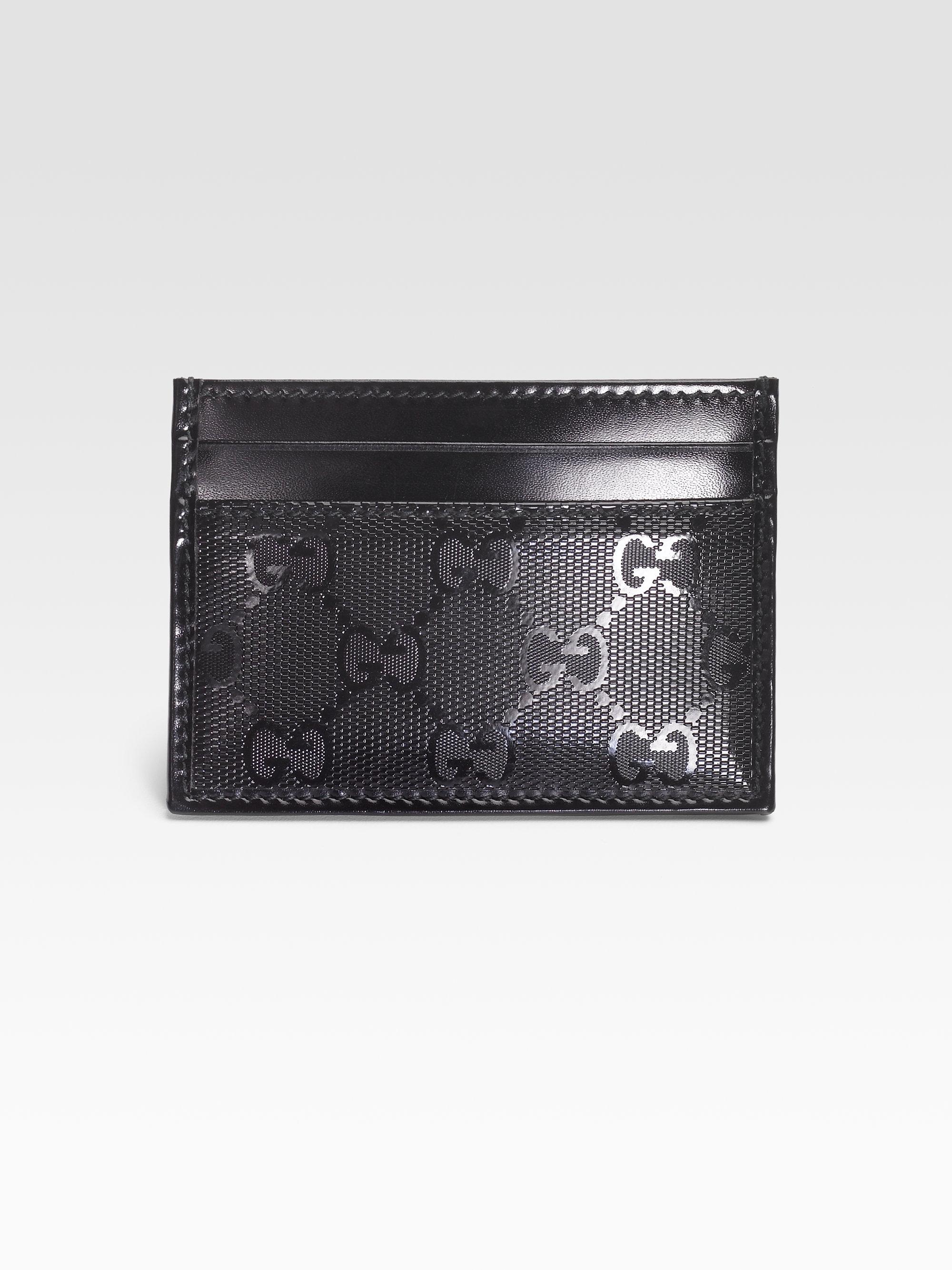 73ab039f025 Gucci Gg Imprime Card Case in Black for Men - Lyst