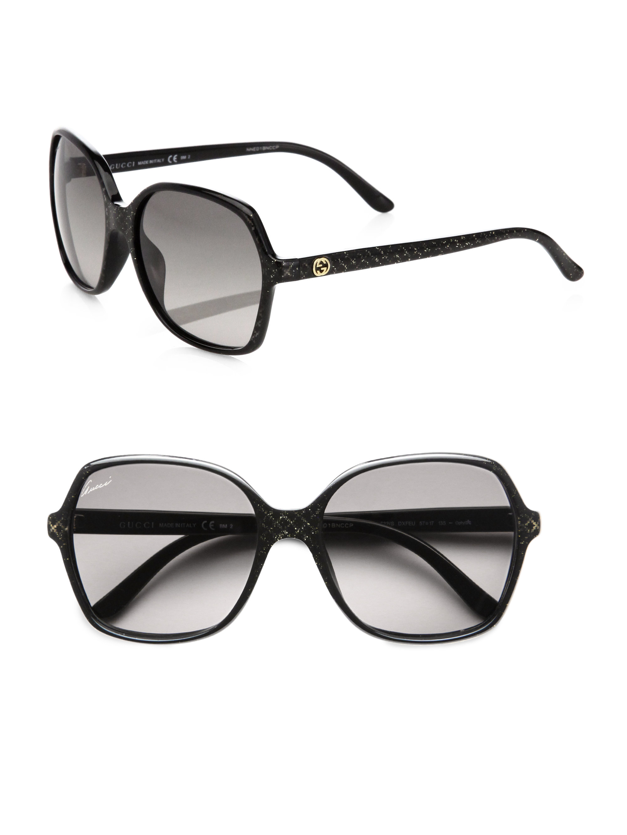 8b06f94832 Gucci Oversized Square-frame Sunglasses