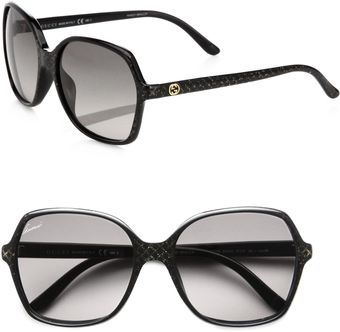 Gucci Optyl Oversized Square Sunglasses - Lyst