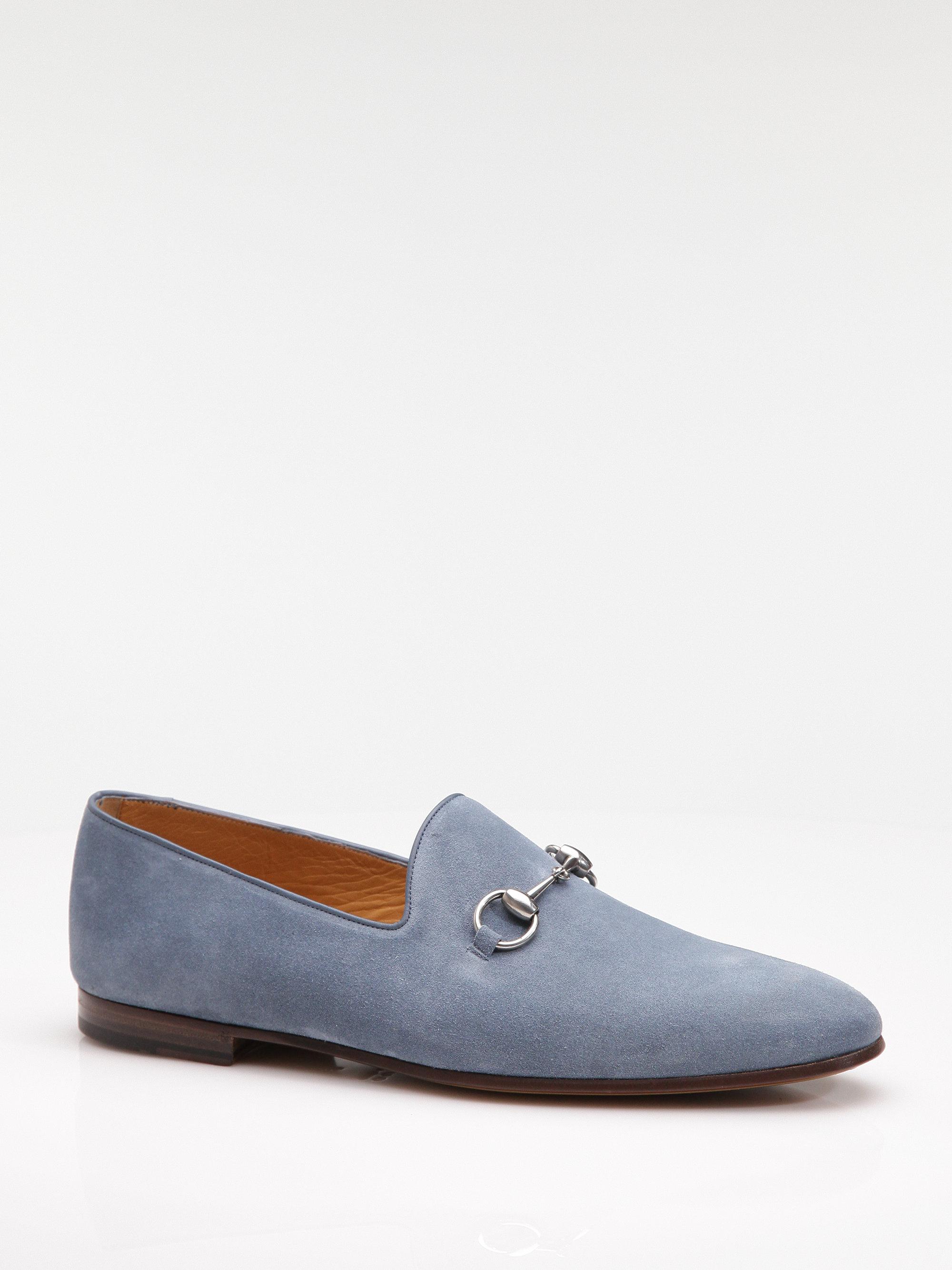 Gucci Loafer In Blue For Men Lyst