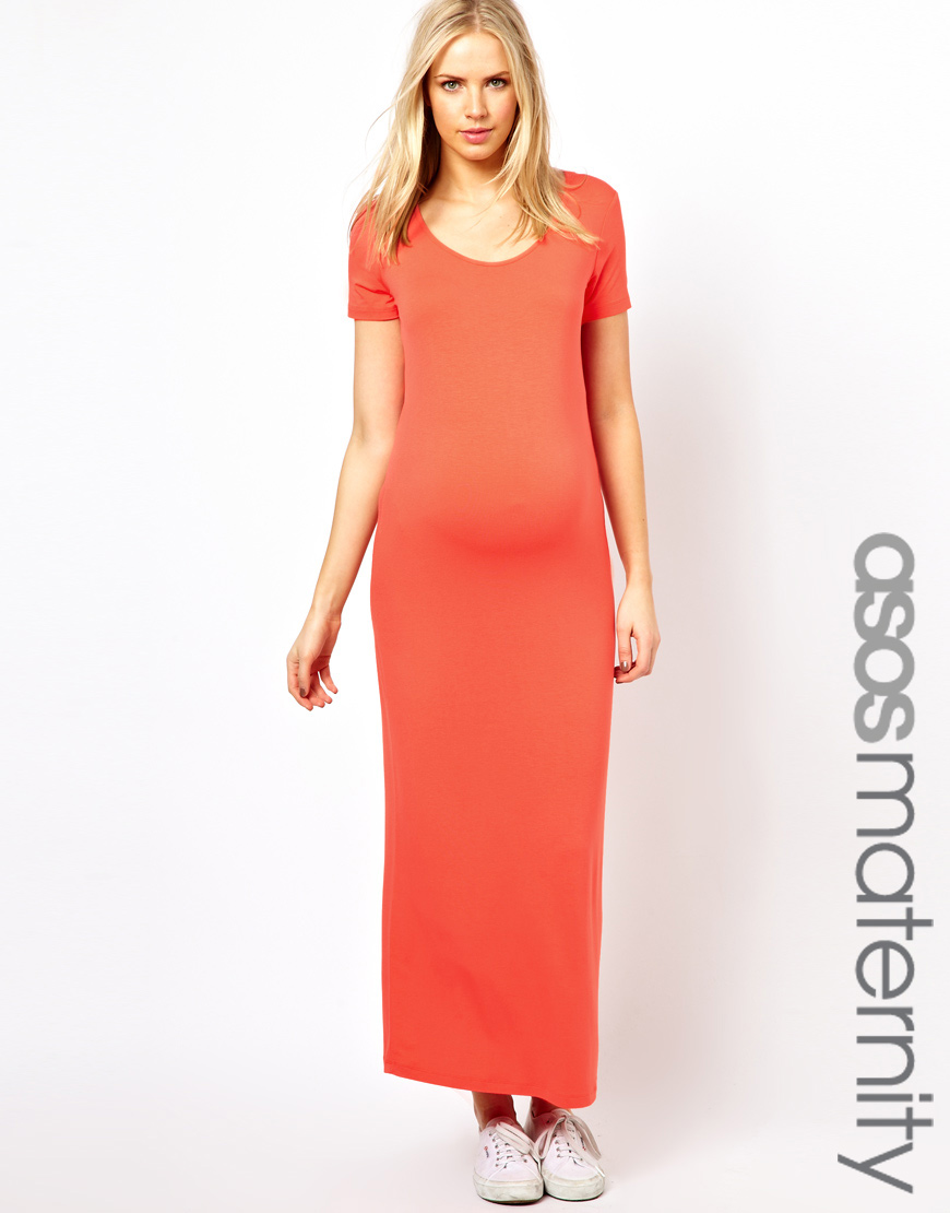 Asos Curve Maxi Dress With Bell Sleeve images