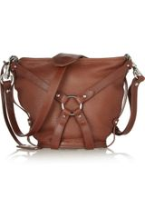 McQ by Alexander McQueen Leather Bridle Bucket Bag - Lyst