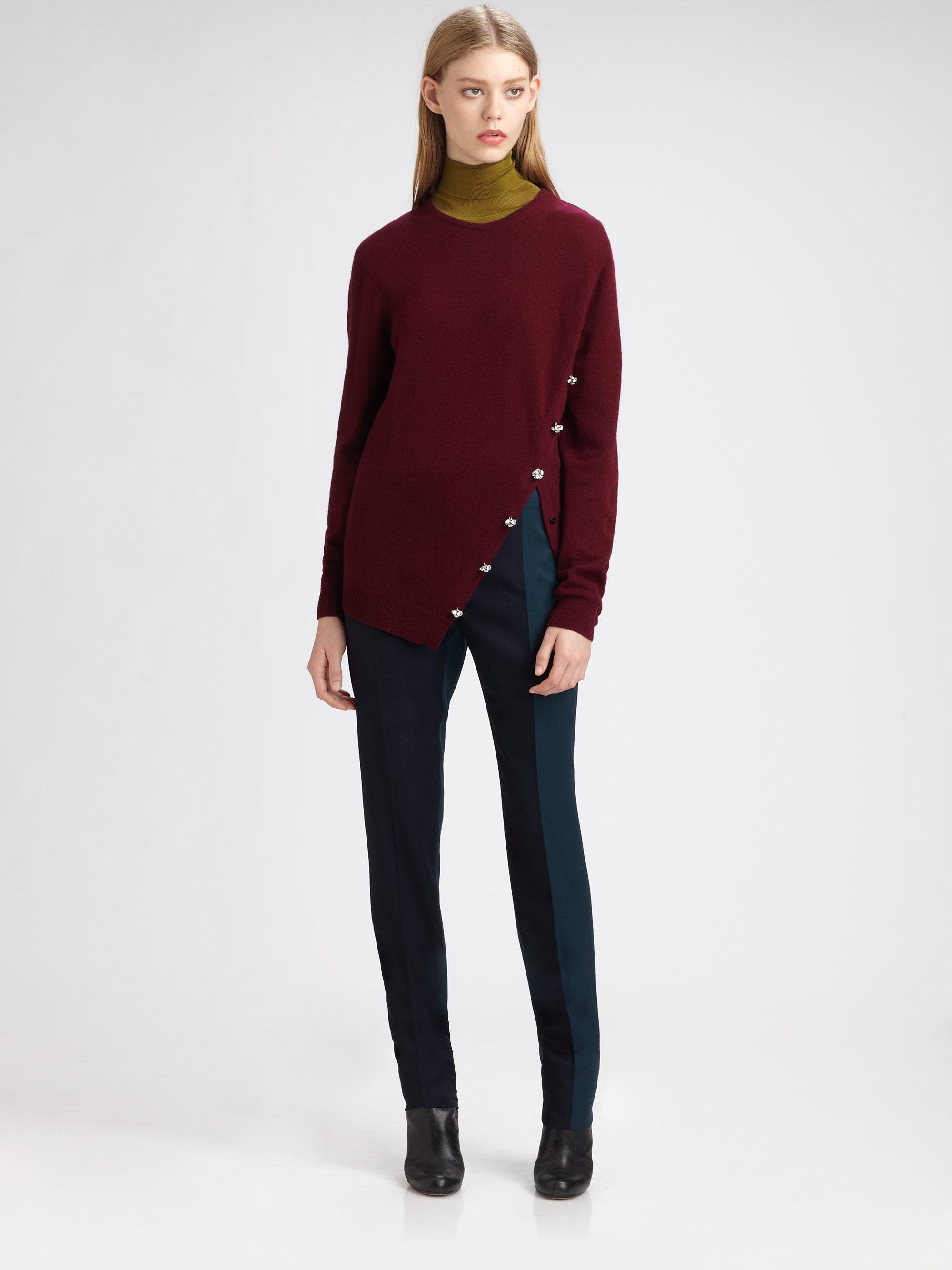 Pringle of scotland Cashmere Sweater in Red | Lyst