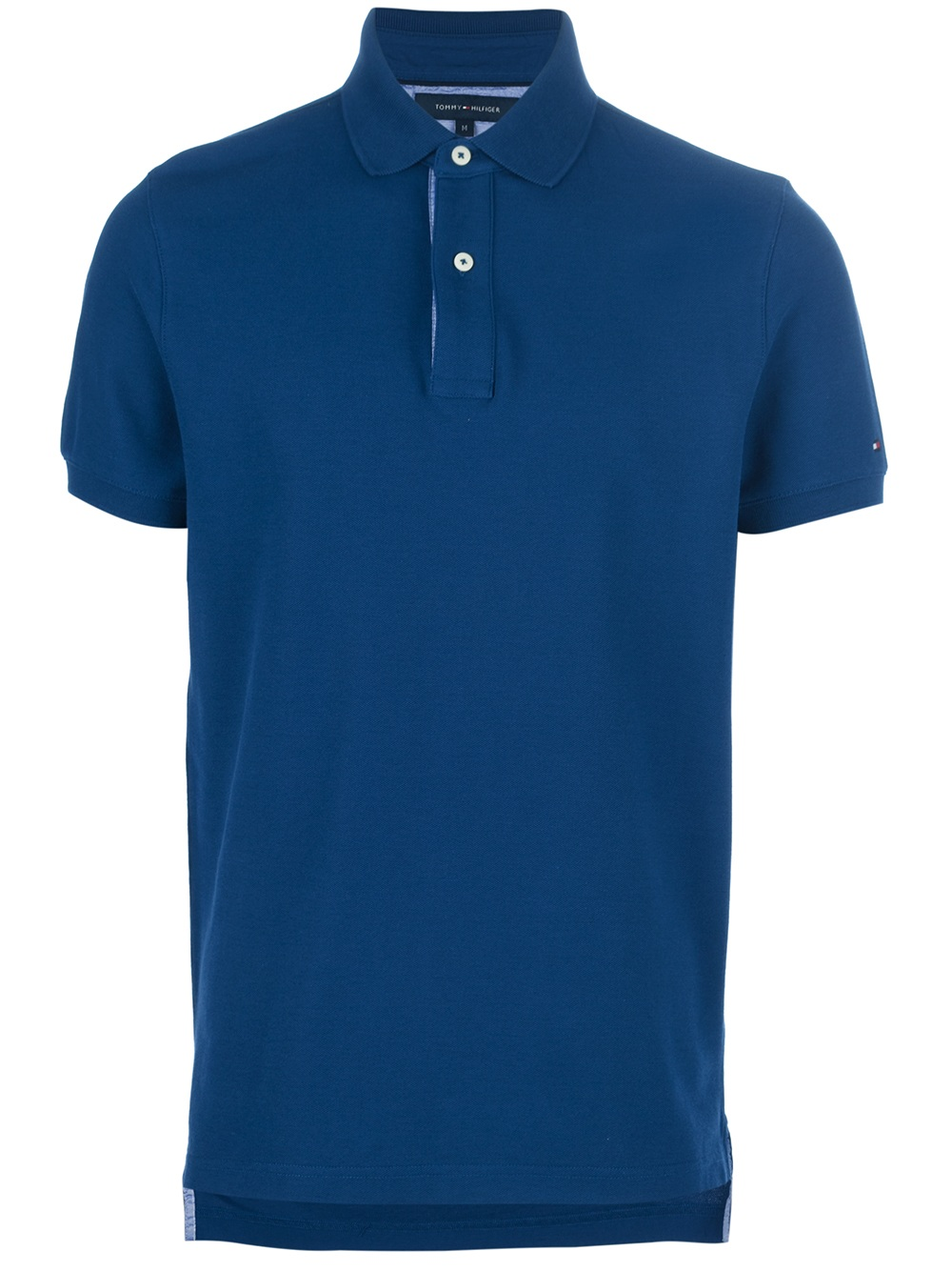 tommy hilfiger classic polo shirt in blue for men navy lyst. Black Bedroom Furniture Sets. Home Design Ideas