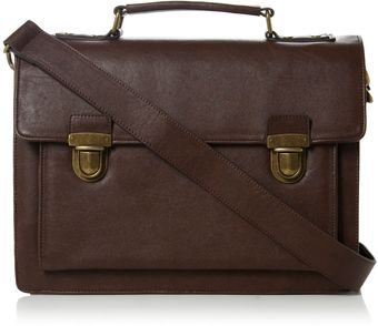 Dune Pharrel Tuk Lock Smart Briefcase - Lyst