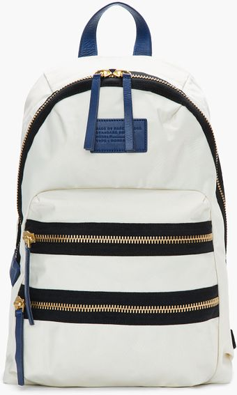 Marc By Marc Jacobs Ivory White Domo Arigato Packrat Backpack - Lyst
