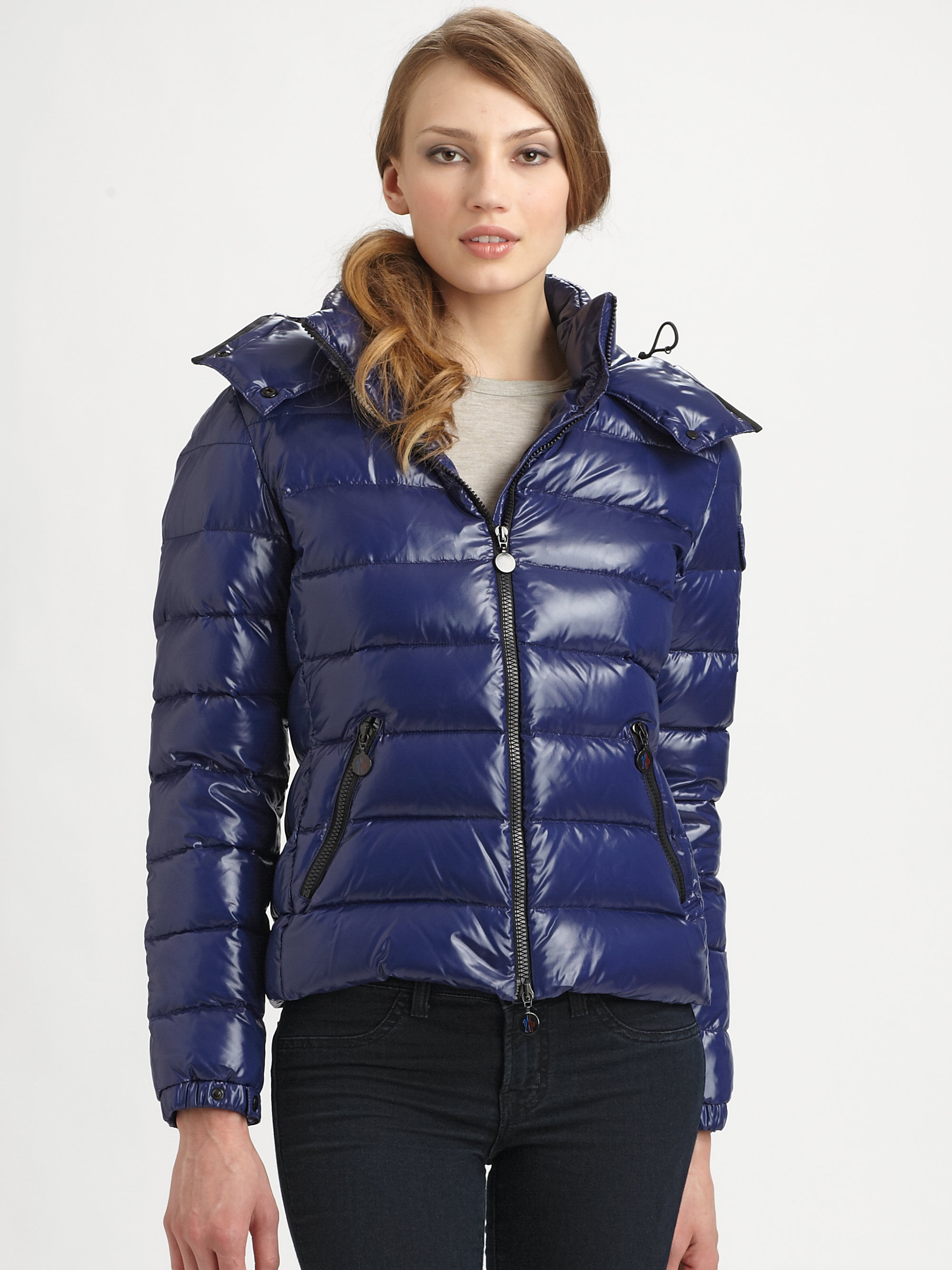 moncler hooded puffer jacket