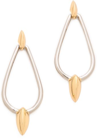 Rachel Zoe Bear Claw Drop Earrings - Lyst
