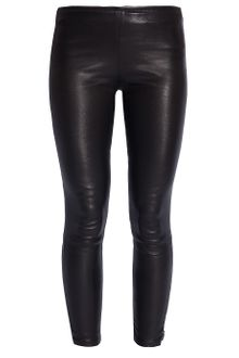 The Row Leather Leggings - Lyst