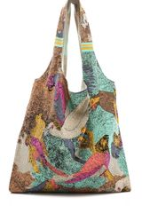 Twelfth Street by Cynthia Vincent Printed Shopper - Lyst