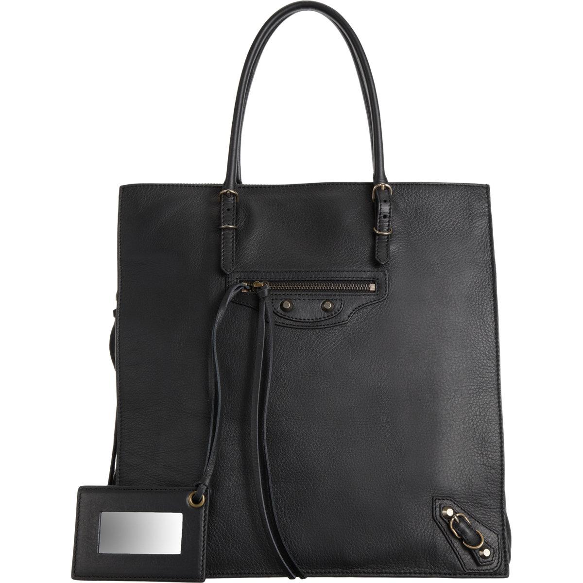 Balenciaga papier triple a5 in black noir lyst for Balenciaga new york store