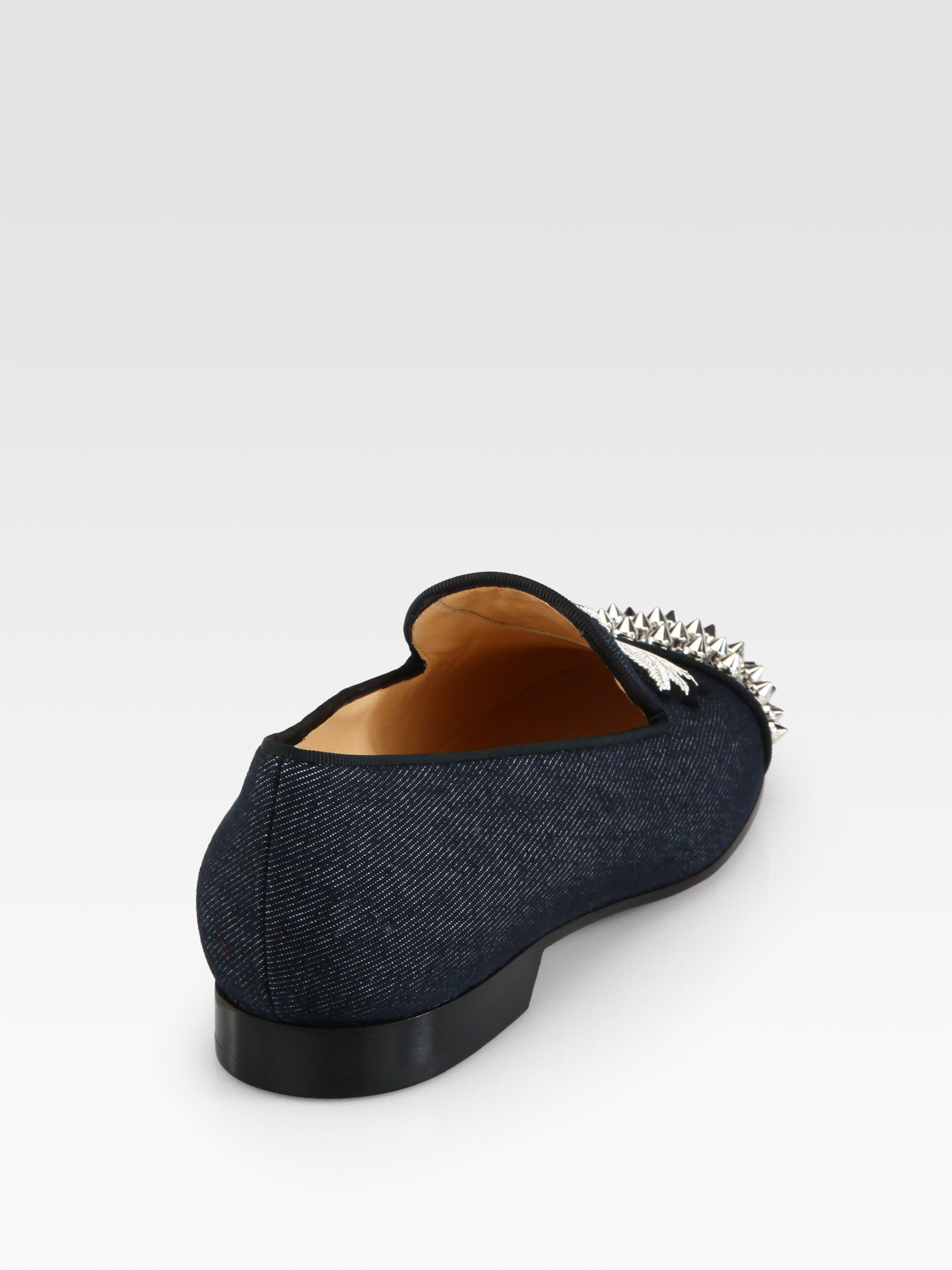christian louboutin leather loafers | cosmetics digital innovation ...