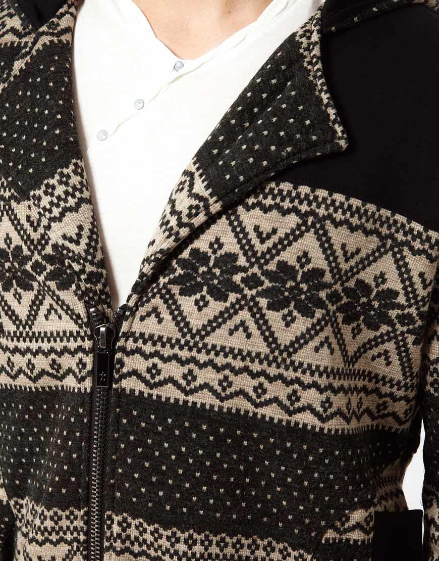 Knitting Pattern For Elvis Jumper : Elvis jesus Knitted Cardigan in Gray for Men (darkgrey) Lyst