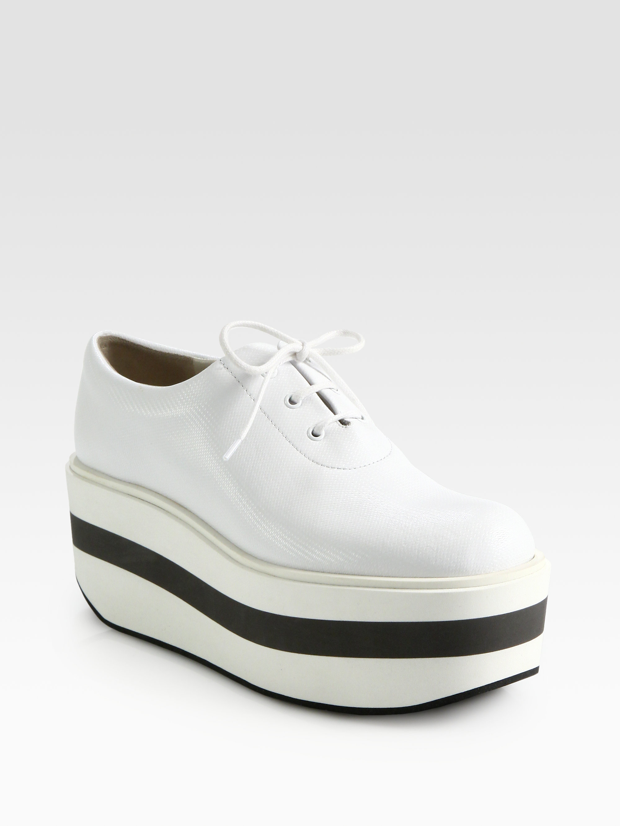 White Platform Shoes Topshop