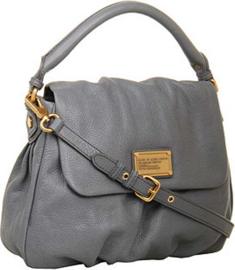 Marc By Marc Jacobs Classic Q Lil Ukita in Gray (gunmetal) - Lyst